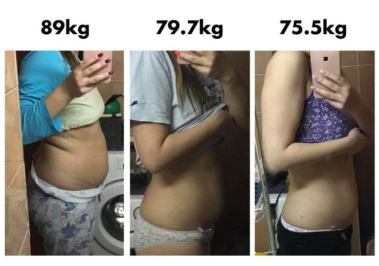 27 kg mršavljenja